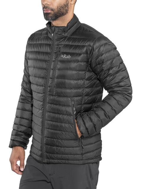 Rab Microlight Jacket Men Black/Shark